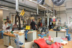 Metallverarbeitung, neue Werkstatträume, Biedenkopf
