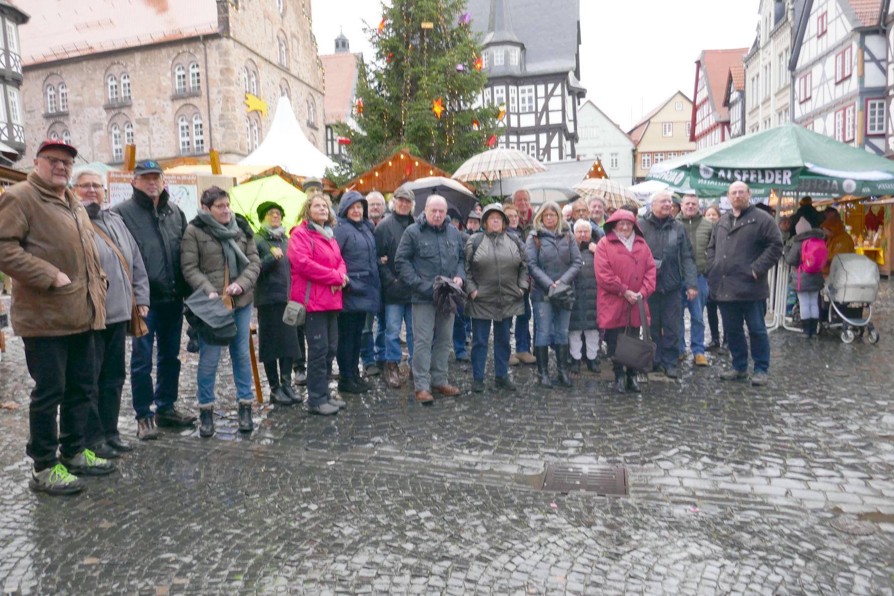 Alsfeld Weihnachtsmarkt.Ig Ortsgruppe Biedenkopf Besuchte Den Weihnachtsmarkt In Alsfeld