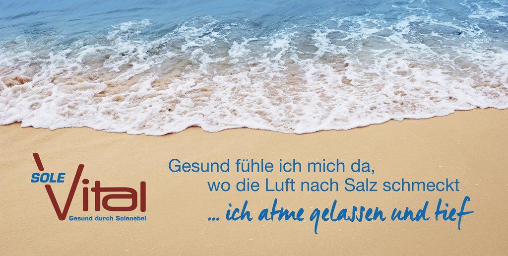 Strandfoto. Sand und Meer.