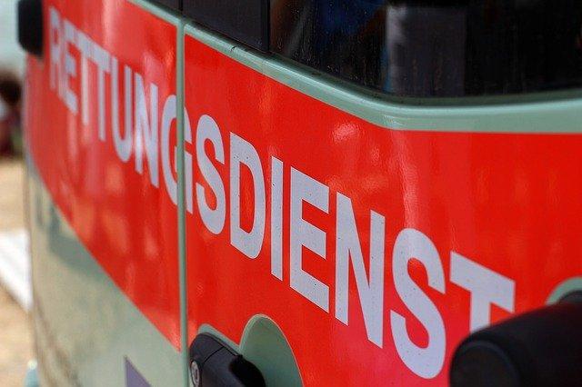 Rettungswagen (Ausschnitt)