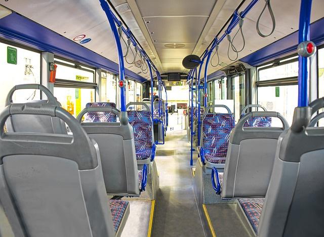 Bus von innen