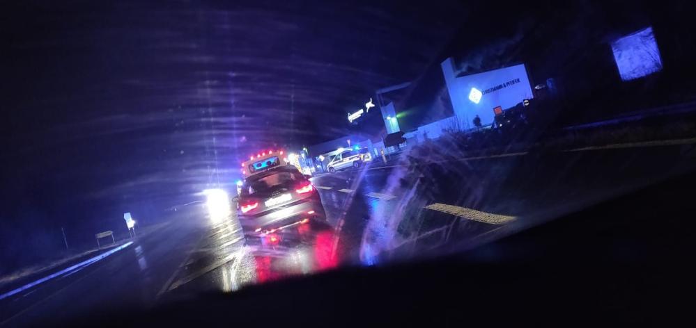 Unfallgeschehen bei Nacht