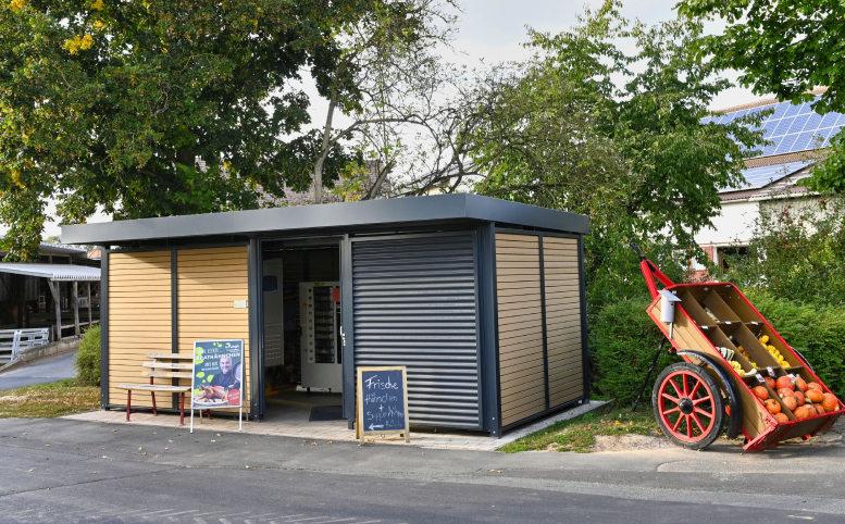 Ein Verkaufsautomat auf dem Land