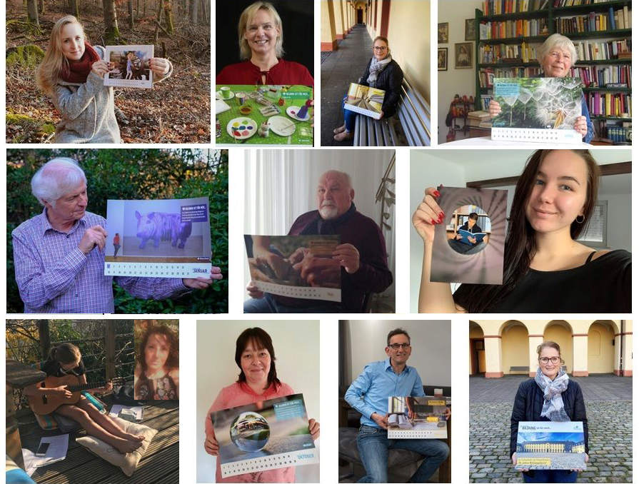 Collage aus Einzelbildern der Gewinner