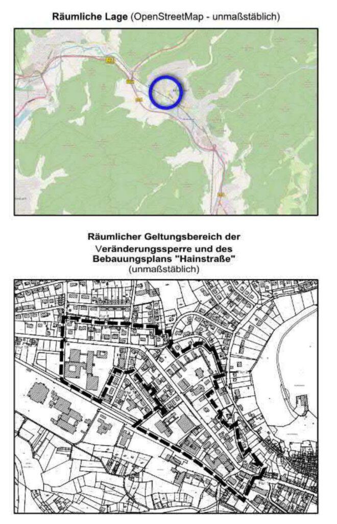 Lageplan der Stadt Biedenkopf