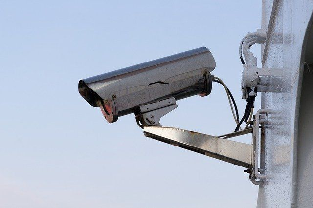 Überwachungskamera im Außenbereich