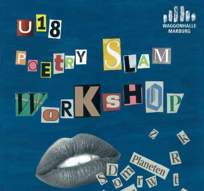 Plakat lädt ein zum Poetry Slam