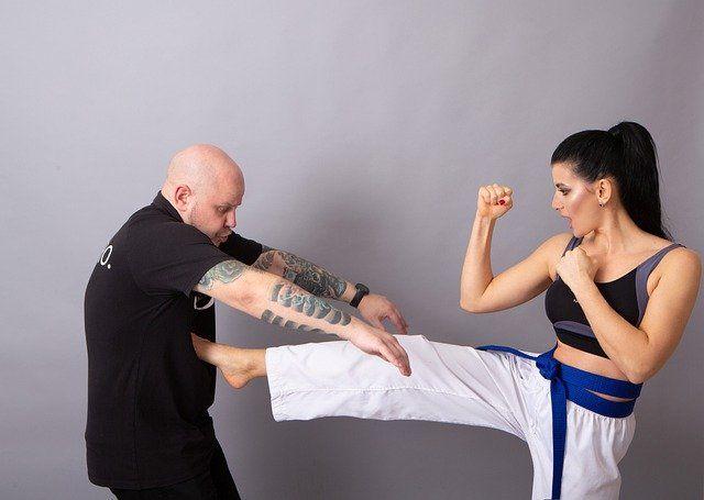 2 Judokas in Aktion
