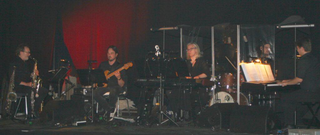 die 5-köpfige Band